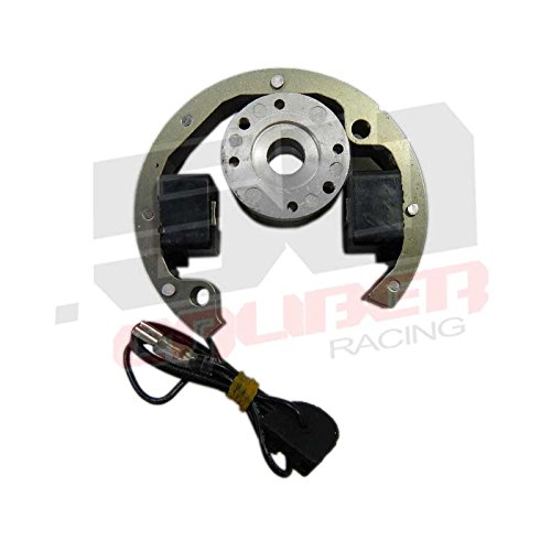 Racing Stator - Replacement Ignition Stator Assembly with Rotor - Fits KTM 50cc Pit Bike Models - Replaces KTM part #'s 45139004000 & 45139005100 [1214-A1]