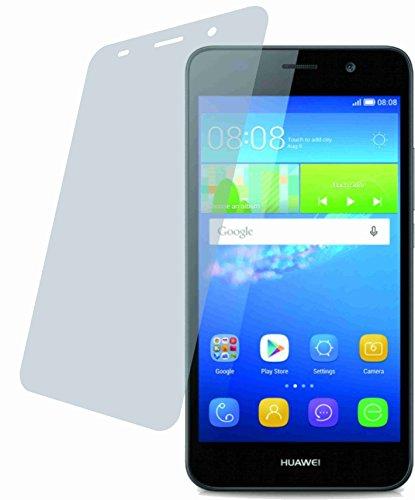 Huawei Y6 (2 Stück) PREMIUM Displayschutzfolie Bildschirmschutzfolie ANTIREFLEX - KRATZFEST UND PASSGENAU