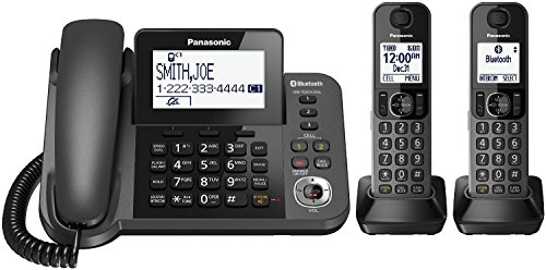 Panasonic KX TGF382M 2 Handset Telephone Refurbished