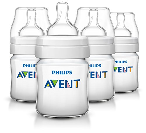 Philips Avent Anti-colic  Baby Bottles 125ML/4oz, 4 Piece