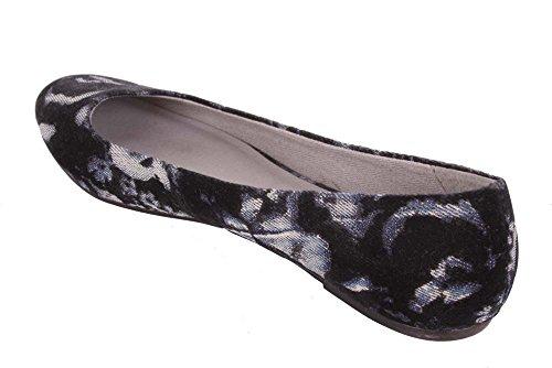 Slipper Diesel Jeans Ballerina Nero Starlike xgqw76Zwv