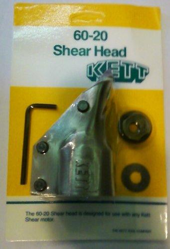 Kett 60-20 18 Gauge Shear Head Unit (for models KD-200, P-500, P-1060, B-100, K-100 and (Kett Kd 200 18 Gauge)