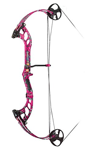 PSE Mudd Dawg Bowfishing Bow, Right Hand, Dk'd Pink, 40#