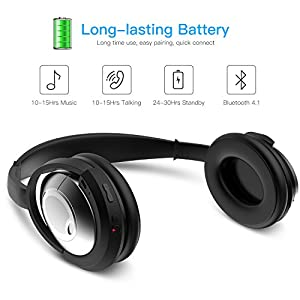 Wireless Bluetooth Adapter Bose QuietComfort 25 Headphones, Myriann Black Bluetooth 4.1 Receiver for Bose QC25 Acoustic Noise Cancelling Headphones