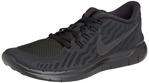 Nike Women's Free 5.0 Running Shoes Black/Anthracite Size 8 M US