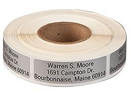 Personalized Large Print Self-Stick Address Labels 500