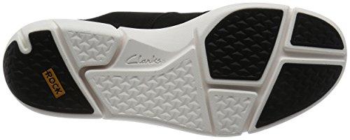Clarks Herren Triflow Form Sneaker Schwarz (Black Nubuck)