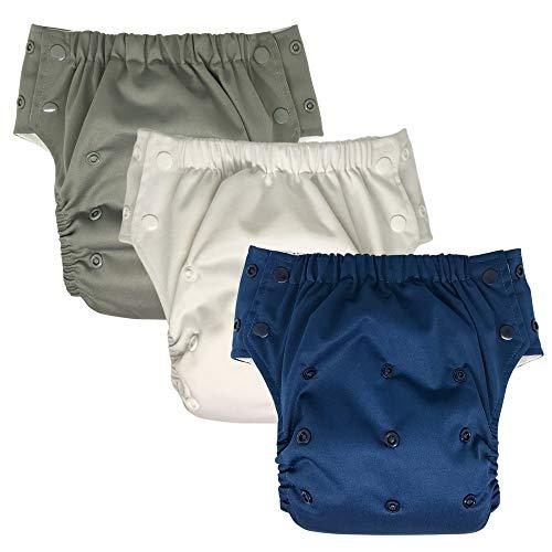 Hybrid Cloth Diaper - Reusable Training Pants or Reusable Swim Diaper, Newborn...
