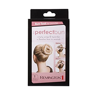 Remington SB1W1BLA Perfect Bun, Blonde