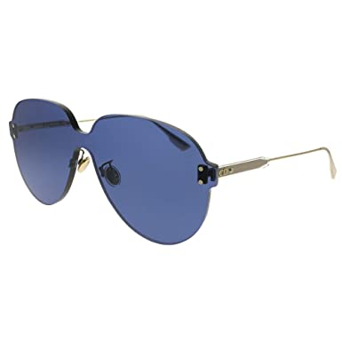 b0c338a6e2ddb Amazon.com  Dior Color Quake 3 Gold Blue 99 1 145 Women Sunglasses ...