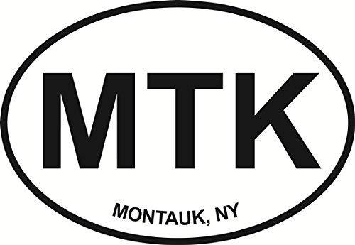 (Vinyl Overlays 720 Magnet Montauk Euro Oval Bumper Magnetic Sticker 5