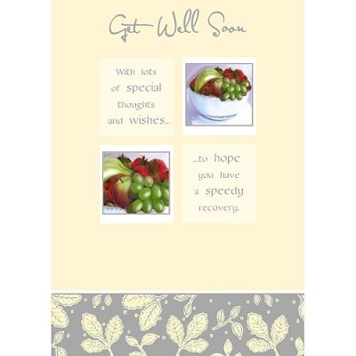 Amazon get well soon greetings card by carte blanche kitchen get well soon greetings card by carte blanche m4hsunfo