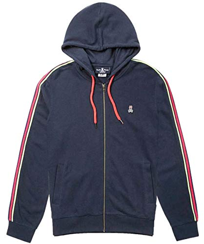 Lendall Bunny through Zip Psycho Marine Hoodie Hommes 7zwRA6