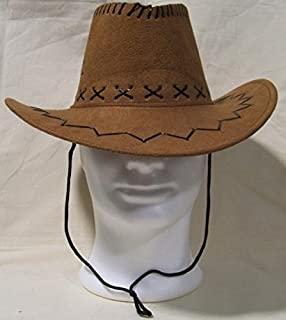 Feste Marrone Per Uomo Country Cappello In Donna Cowboy Da Feltro 1xxa8