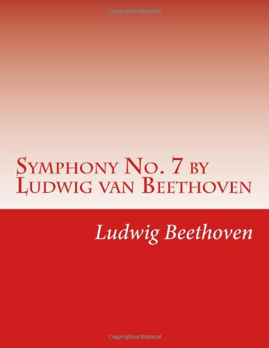 Download Symphony No. 7 by Ludwig van Beethoven pdf