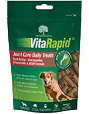 Vetalogica VitaRapid Joint Care Daily Treats for Dogs, 210g