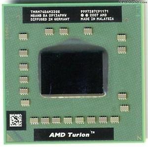 TMRM74DAM22GG AMD Mobile Turion 64 x2 RM-74 2.2GHz 1M s1 LP**
