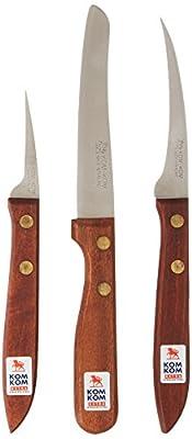 Fruit & Vegetable Carving Knives, Set A