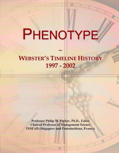 Phenotype: Webster's Timeline History, 1997 - 2002