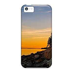 iphone 4 /4s PC phone carrying skins Awesome Look case bass harbor lighthouse acadia national park maine