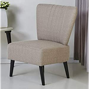 Amazon.com: Hebel Carmen Slipper Accent Chair | Model ...