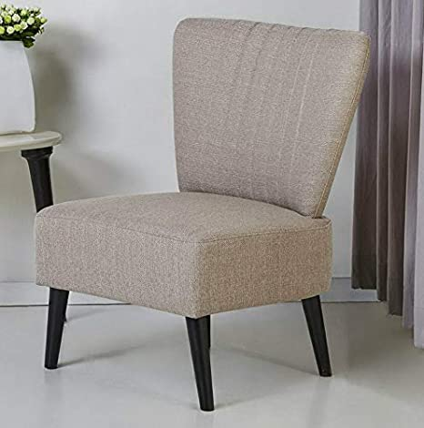 Amazon.com: Hebel Fontana Armless Accent Chair | Model ...