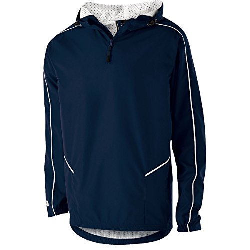 Men's Wizard Pullover Holloway Sportswear 3XL Navy/White
