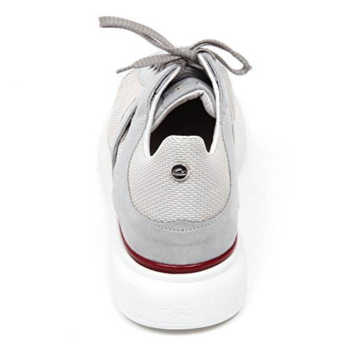 Scarpa Shoe Sneaker D0852 Berk Uomo Sport Grigio Grigio Man GUARDIANI dX01H0xq