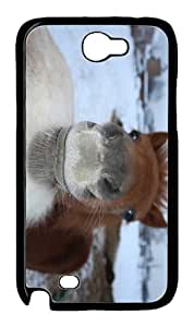 online covers Foal Kiss PC Black case/cover for samsung galaxy N7100/2