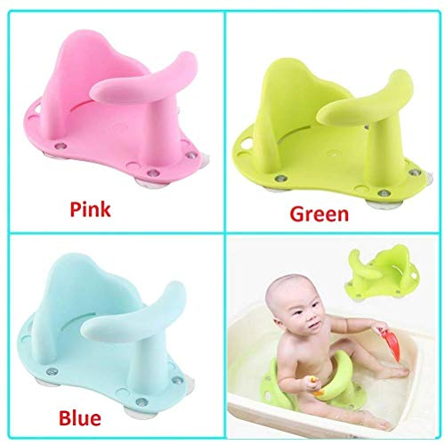 - LQT Ltd New Baby Bath Tub Ring Seat Infant Child Toddler Kids Anti Slip Safety Comfortable Bath Chair
