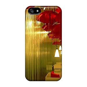 Tpu Case Cover For Iphone 5/5s Strong Protect Case - Indoor Rain Design