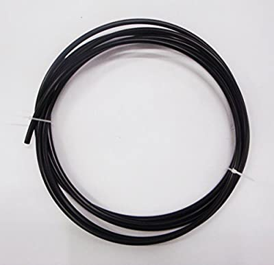 "1/4"" NSF/ANSI Certified RO Reverse Osmosis Tubing, Black Color 10 feet, made in USA"
