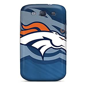 Marycase88 Samsung Galaxy S3 Scratch Protection Mobile Cover Provide Private Custom Beautiful Denver Broncos Skin [xbO11059xYNe]
