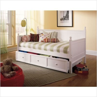 Maple Finish Wood Daybed - 5