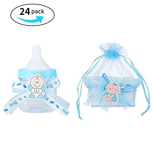 Baby Shower Big Candy Bottle and Candy Basket 24 Pack -