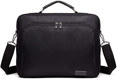 ビジネスバッグ メンズ PC収納ショルダーバッグメッセンジャーバッグ 携帯用ジッパーファイル袋の人の大容量ビジネスブリーフケースオックスフォードの布の会議 大容量 男性用ビジネス ロック アタッシュケース A4、iPad、折り畳み傘等対応