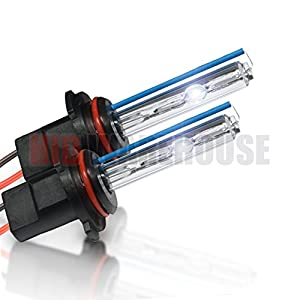HID-Warehouse HID Xenon Replacement Bulbs - 9006 8000K - Medium Blue (1 Pair) - 2 Year Warranty