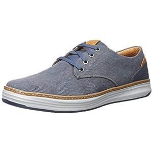 Skechers Men's Moreno Canvas Oxford Shoe