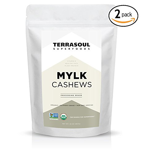 Terrasoul Superfoods Organic Cashews Pounds product image