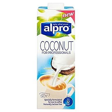 Alpro soja coco Bebida para Profesionales con soja 1L (Pack de 8 x 1ltr)