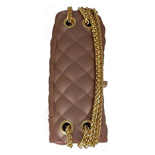 is bandoulière Rose femme cm pour Gold Sac bag 5x6x9 17 Rw6xqrRCF