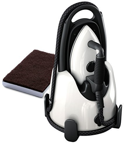 Laurastar Lift Steam Iron - Pure White + Soleplate Cleaning Mat Bundle
