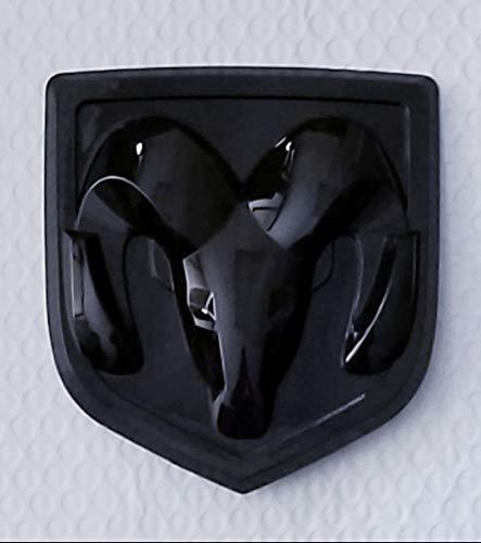 (LOOK NEW! DR-150 Ram 1500 2500 3500 Rear Tailgate Emblem Badge for Ram 2013-2017 (Black))