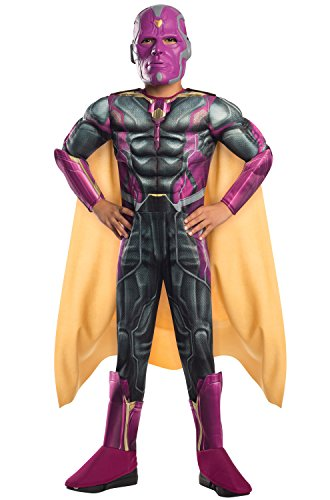 Rubie's Costume Avengers 2 Age of Ultron Child's Deluxe Vision Costume, (Vision Avengers 2)