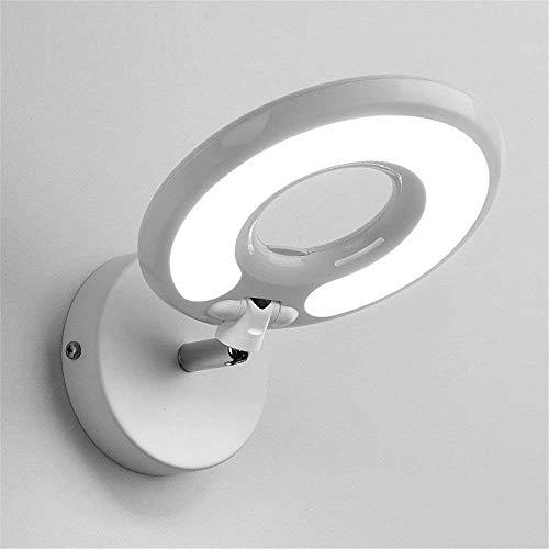 Lighting Modern Berries - LUHEN Wall lighting modern simple & creative bedrooms bed to the hotel to read the study eye wall lamp wall light with switches, 10 cm16 cm, led blackberry (Color : White)
