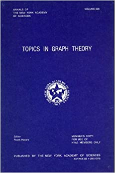Topics in graph theory (Annals of the New York Academy of Sciences ; v. 328)