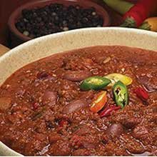 Blount Seafood Uncle Teddys Chunky Beef Chili Soup with Beans, 4 Pound - 4 per (Chunky Beef Stew)