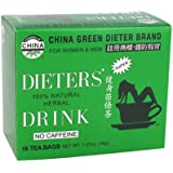 Uncle Lee's Tea China Green Dieter's Drink, 18 Count