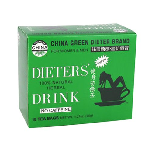 (Uncle Lee's Tea China Green Dieter's Drink, 18 Count)