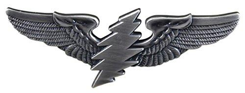 (Grateful Dead® Lightning Bolt Large Pilot Wing Pin)